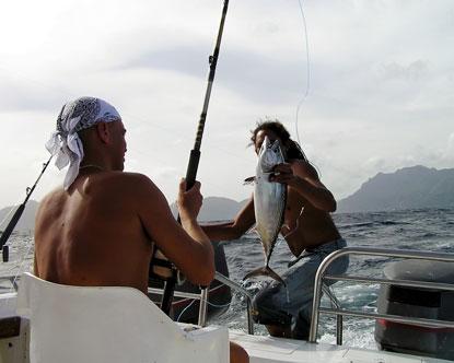 Fishing  Dark Lyrics on Fishing In Seychelles