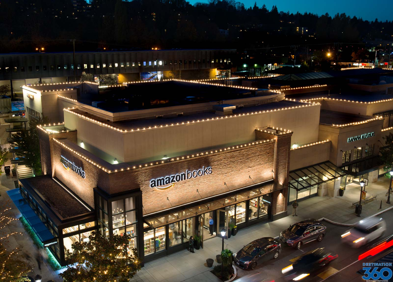 Amazon Bookstore in Seattle