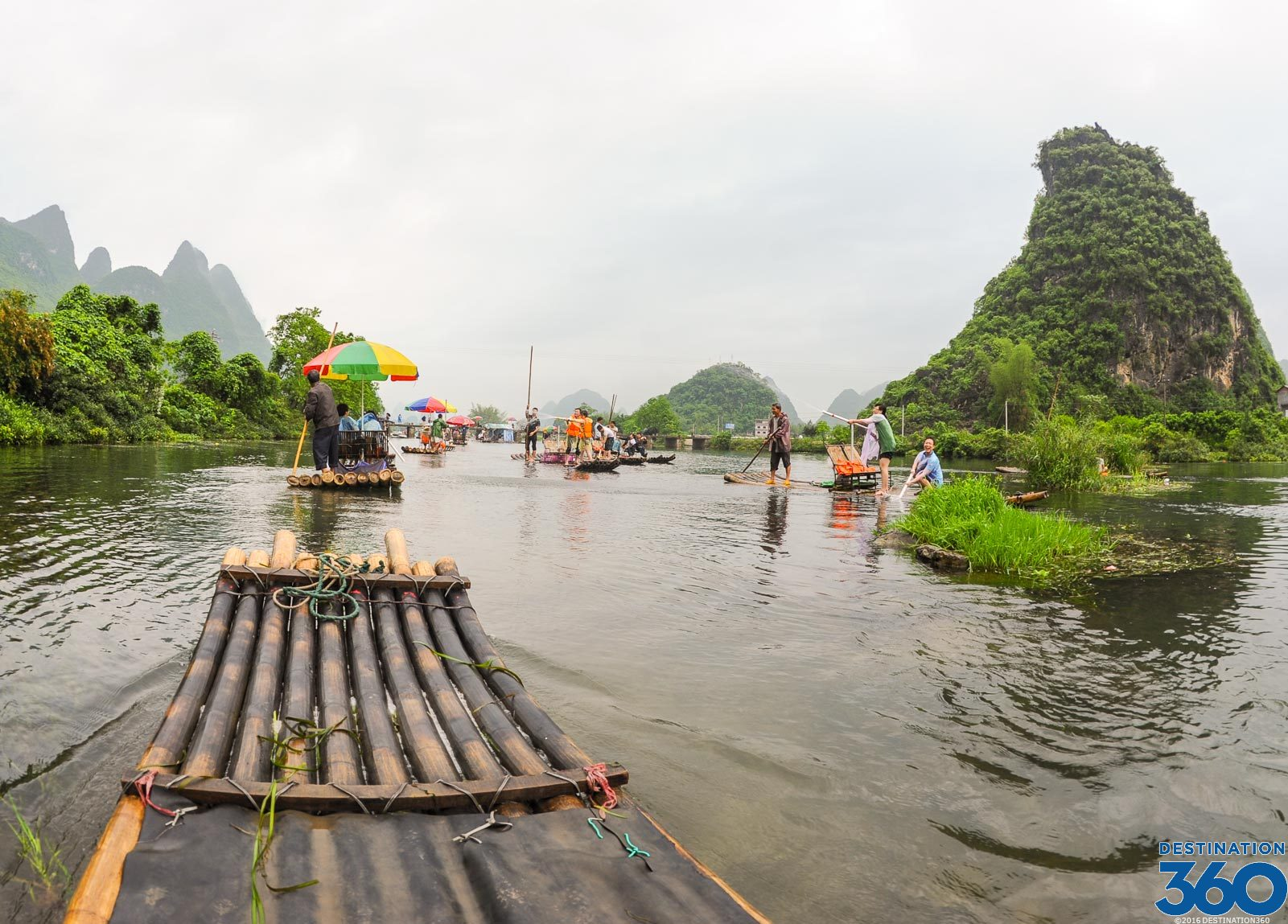 Bamboo Rafting Virtual Tour