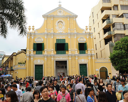 Senado Square - St. Dominic's Church