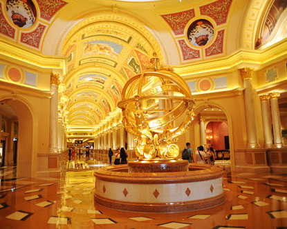 Venetian Hotel Macau Lobby