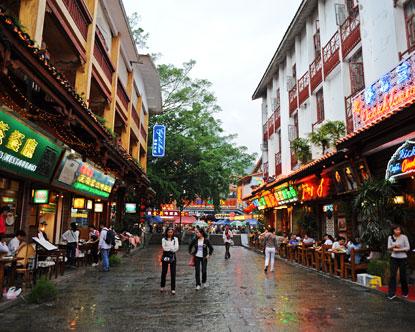 West Street Yangshuo Yangshuo Shopping