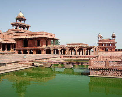 How Many Miles From >> Fatehpur Sikri - Fatehpur Sikri India