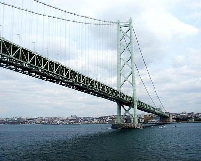 Akashi Kaikyo Bridge Facts About The Akashi Kaikyo Bridge
