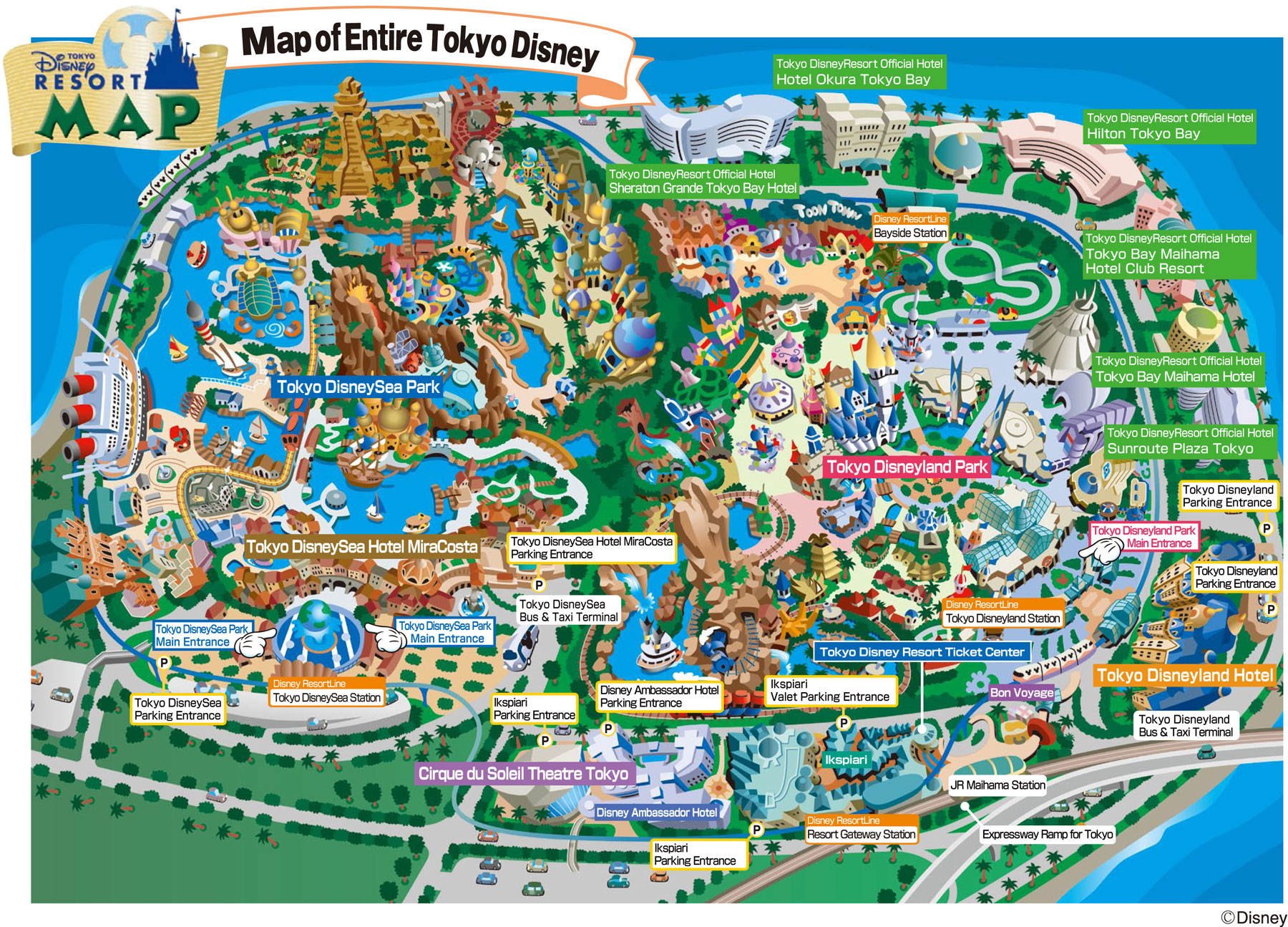Tourist Attractions – Tourist Attractions Map In Tokyo
