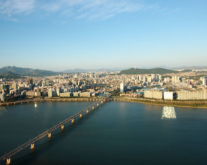 South Korea's Major Rivers
