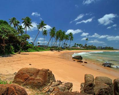 Sand beach, Mirissa