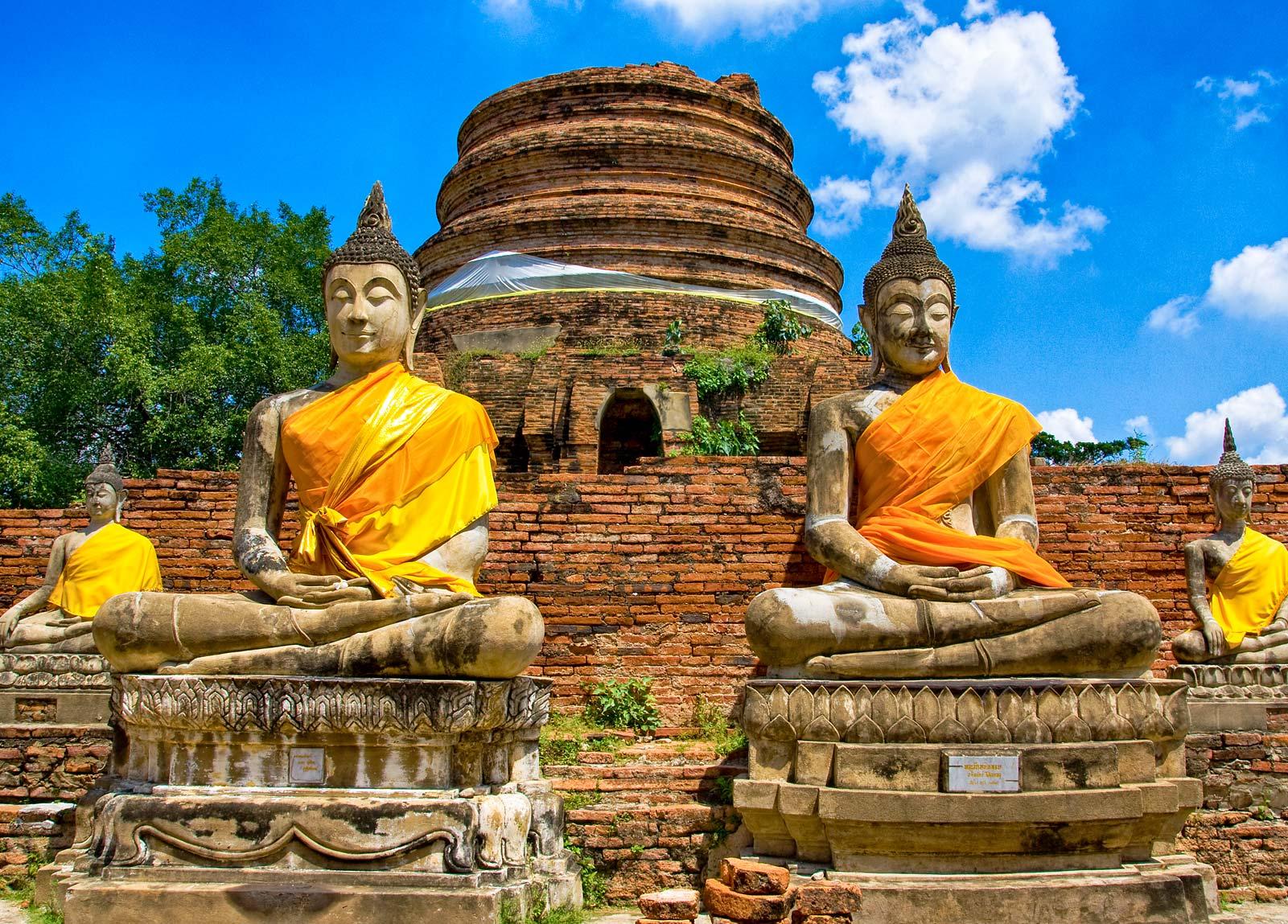 Ayutthaya Thailand Ayutthaya Temples Summer Palace In