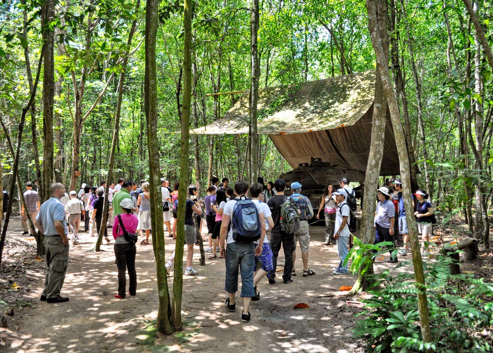 Cu Chi Tunnels Tunnels In Vietnam Vietnam War Tunnels
