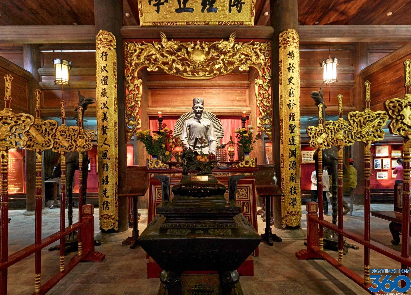 Vietnam Temples - Temple of Literature - Temples in Hanoi