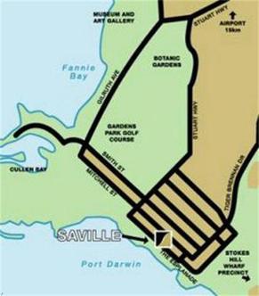 Saville Park Suites   Darwin