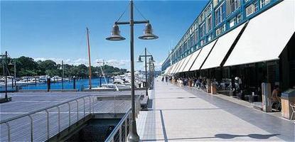 Blue Woolloomooloo Bay Sydney