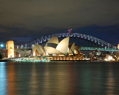 a history of the sydney opera house On this day in 1973, the iconic sydney opera house was officially opened by  queen elizabeth ii notably absent from the ceremony was the.
