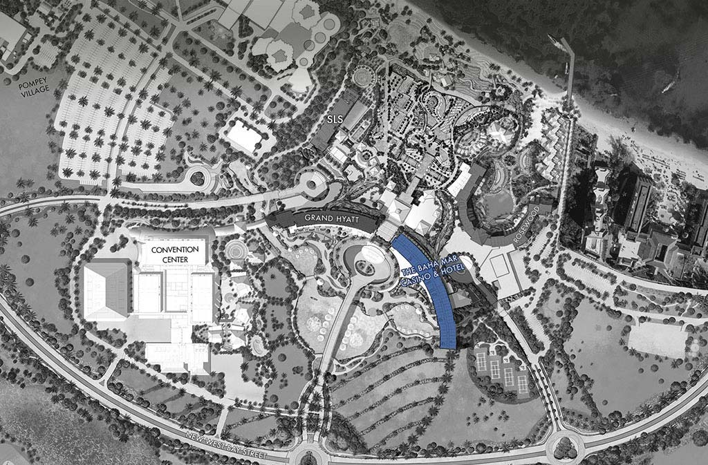 Baha Mar Map