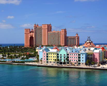Atlantis Bahamas is a resort located on Paradise Island in