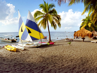 St Lucia Beaches