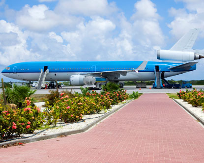 Airport in Bonaire