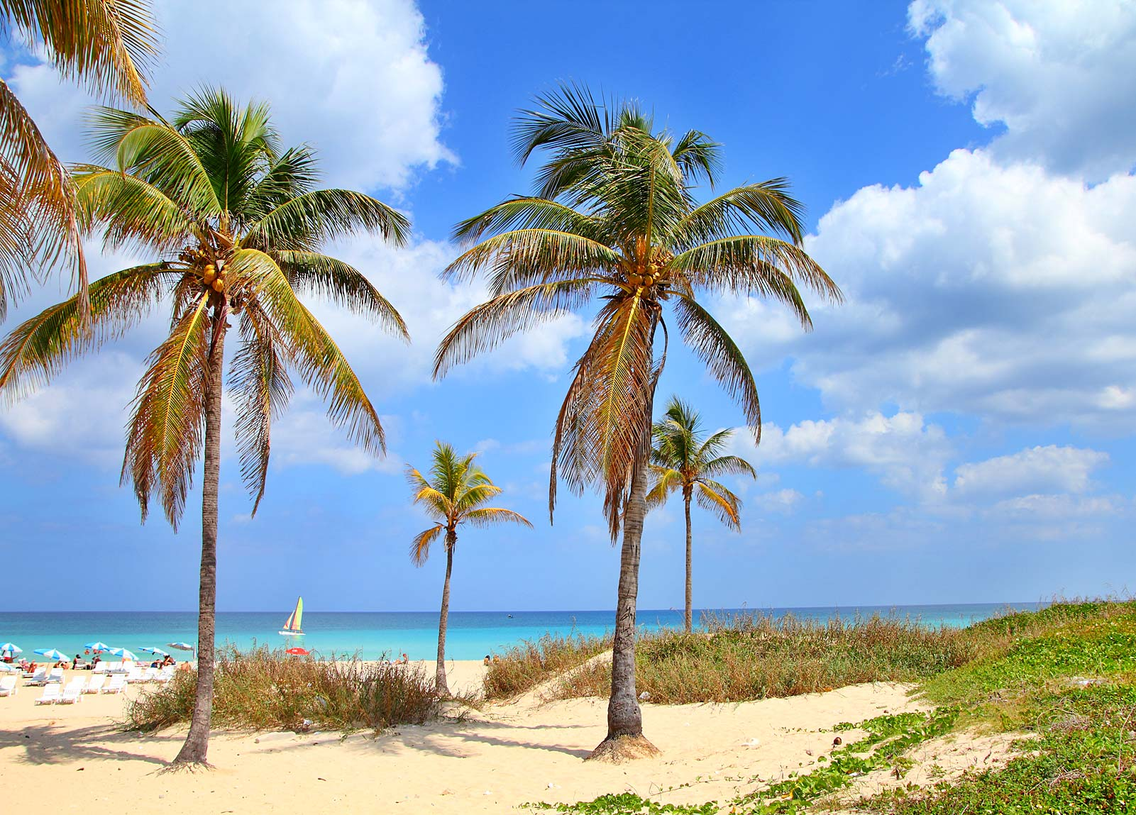 Playa Megano Popular Beach On Cayo Ensenachos