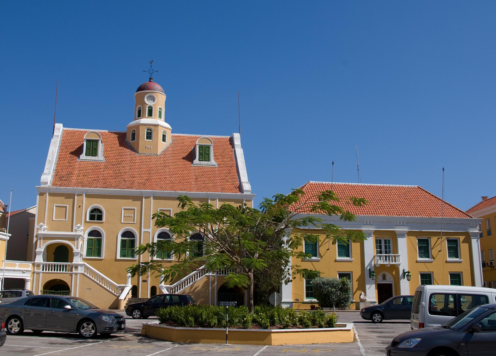 Fort Amsterdam Curacao Fort In Willemstad Curacao