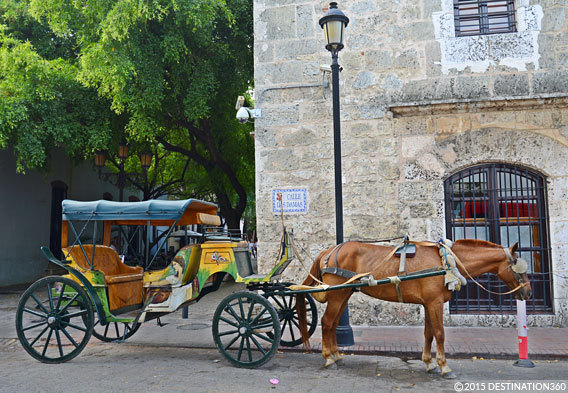 Santo Domingo Horse Carriage