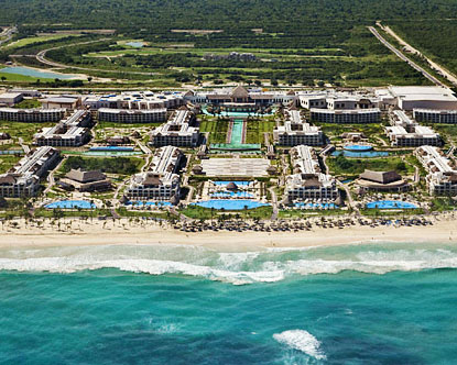 The Hard Rock Hotel & Casino Punta Cana opened in November 2010,
