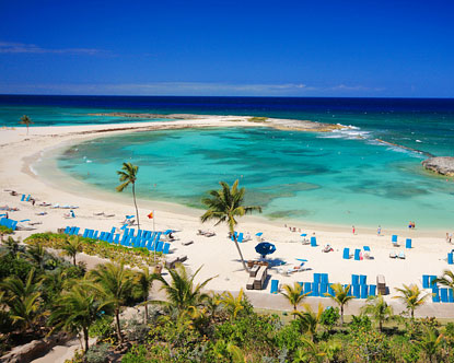 Beaches in the Caribbean