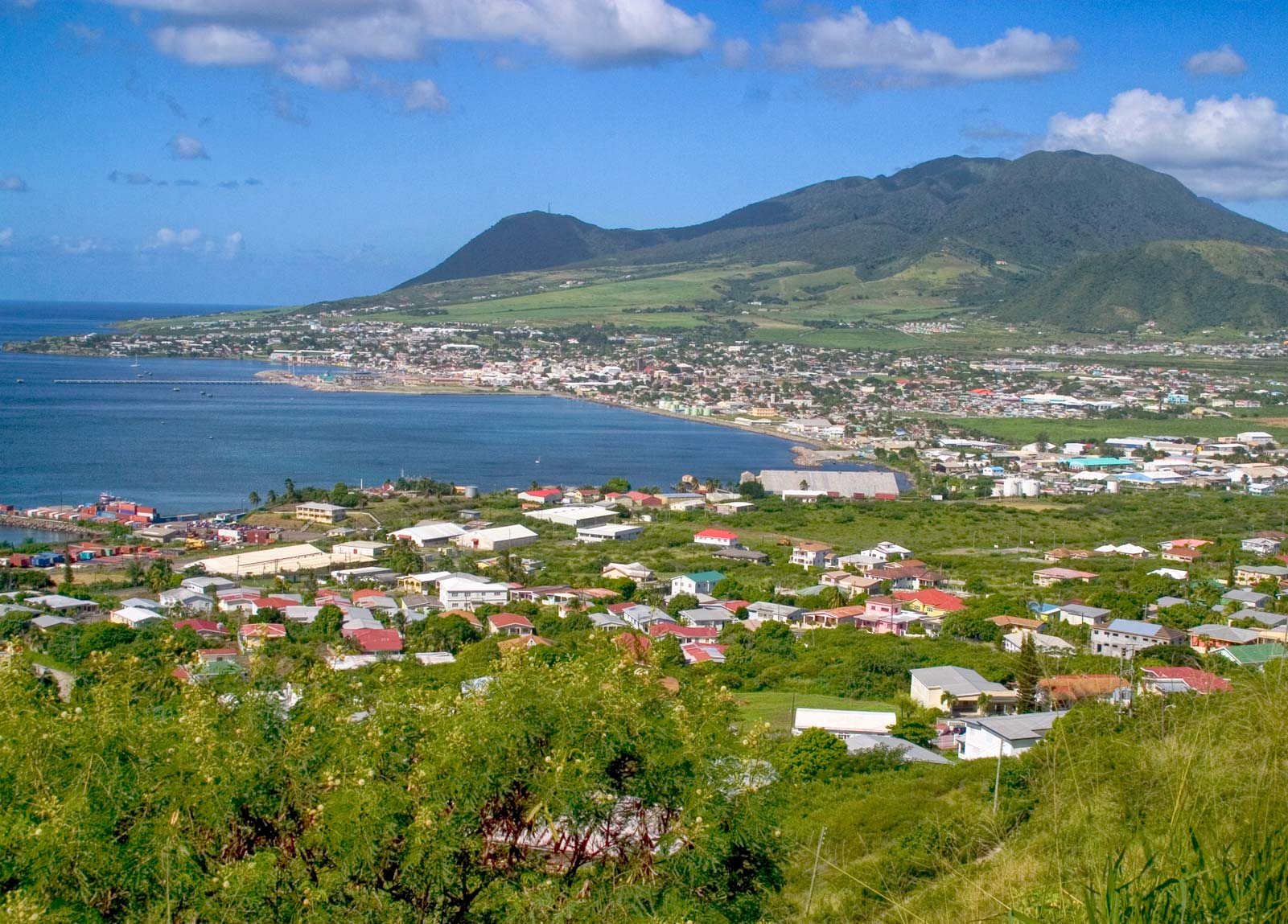 Nevis Saint Kitts Maps