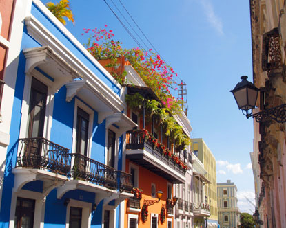Old San Juan. Immersing yourself in Puerto Rico's rich history is easy,