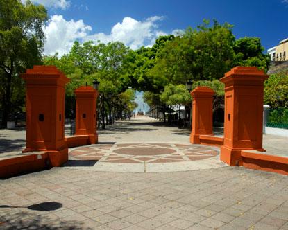 Paseo De La Princesa Paseo De La Princesa Old San Juan
