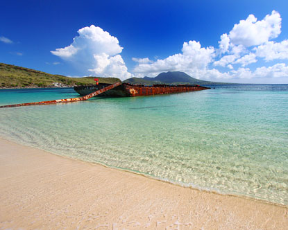 Beaches in St Kitts