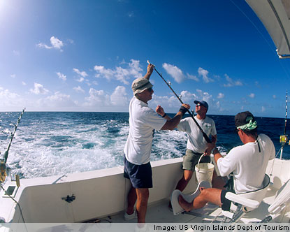 US Virgin Islands Fishing