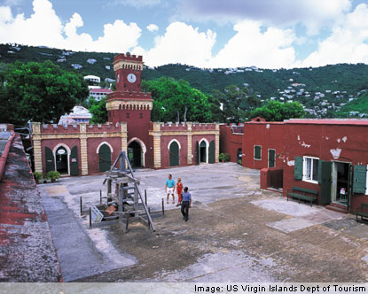 US Virgin Islands History