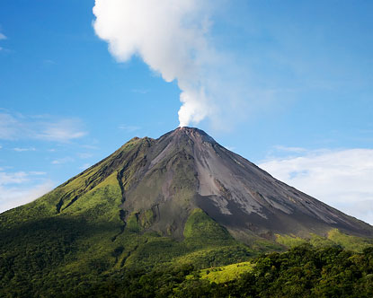 Arenal Volcano Facts