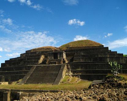 Tazumal El Salvador Ruins Of Tazumal