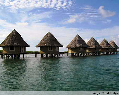 San Blas Islands Hotels - Coral Lodge