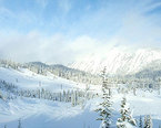 Stevens Pass Ski Resort - Hogsback Express