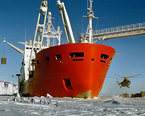 Antarctic Research Ships