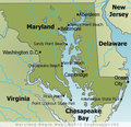 Maryland Beaches Map