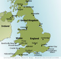 UK Beaches Map