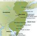 New Jersey Beaches Map