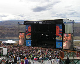 The Gorge Amphitheatre