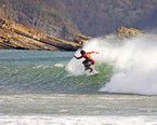 Surfing in San Juan del Sur