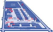 Map of Penn Station
