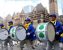 St Patrick's Day in Toronto