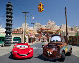 Disneyland Cars Land