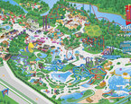 Six Flags New England Map