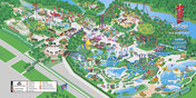 Map of Six Flags New England