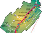 Shenandoah Valley Map