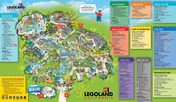 Map of Legoland California