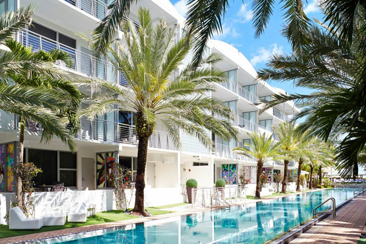 "<p style=""text-align:left;margin-left:20px;margin-right:20px;""><strong>Address:</strong> 1677 Collins Ave., Miami Beach, FL 33139<br /><strong>Price Range:</strong> $$$$<br /><strong>Hotel Style:</strong> Beach Hotel, Luxury Hotel, Romantic Hotel, Spa Hotel<br /><br />At the National Hotel, you will find Miami's longest swimming pool. It measures 205 feet. That's just the start when it comes to the overall allure of this place, however. The National Hotel occupies an elegant, 1940s-style building and offers accommodations that are plush and comfortable. The best rooms come in the form of ultramodern poolside cabana units. Tasteful encounters await at the onsite restaurants and bars, and spa treatments can be enjoyed at the poolside spa cabana.</p>"